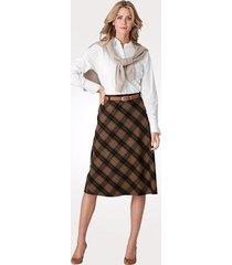 kjol mona brun::kamel
