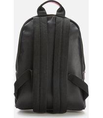karl lagerfeld women's karl legend leather backpack - black