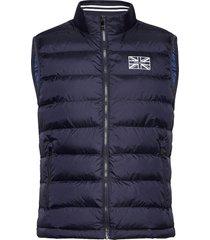 british kit gilet vest blauw hackett london