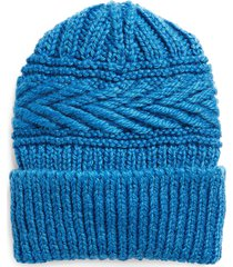 isabel marant seal wool blend knit beanie in electric blue at nordstrom
