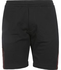 alexander mcqueen classic ribbed shorts