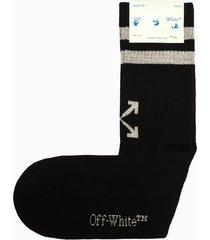 off-white stripped socks omra socks 040f21kni001