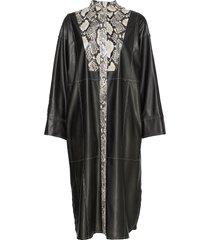 ruby dress maxi dress galajurk multi/patroon stand studio
