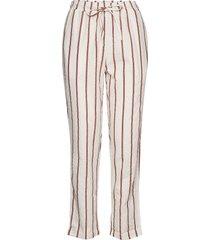 mind pants wave pantalon met rechte pijpen roze moshi moshi mind