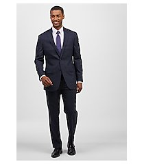1905 collection tailored fit plaid men's suit with brrr°® comfort - big & tall by jos. a. bank