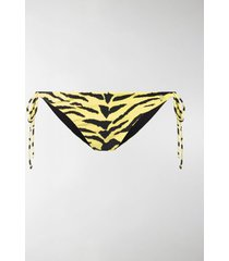 saint laurent tiger print bikini bottom
