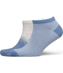 levis low cut color dip 2p ankelstrumpor korta strumpor blå levi´s