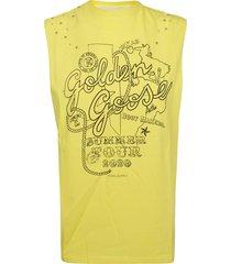golden goose summer tour tank top