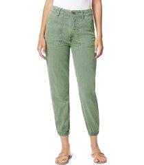 joe's jeans women's workwear jogger pants - seagrass - size 26 (2-4)