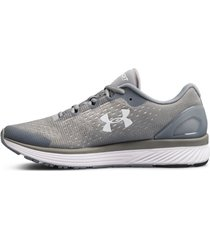 tenis gris under armour charged bandit 4 3020401-100