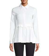 peplum dress shirt