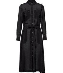 lixiw dress jurk knielengte zwart inwear