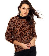 sweater animal print portsaid