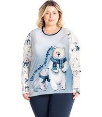 pijama legging estampado bear