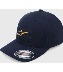 gorra azul navy alpinestars levest hat