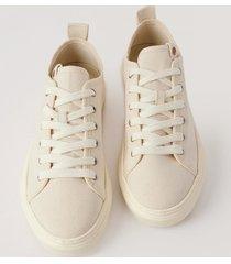 zouri shoes klassiska sneakers - beige
