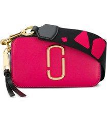 marc jacobs bolsa tiracolo 'snapshot' pequena - rosa