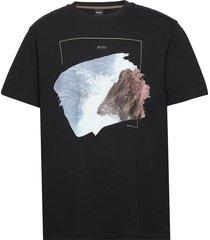 tnoah 4 t-shirts short-sleeved svart boss