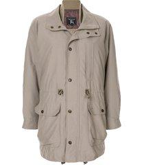burberry pre-owned long sleeve jacket - brown