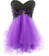 ball gown sweetheart  blue tulle short cocktail dress evening dress,prom dress