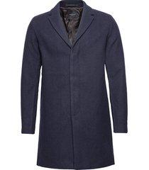 slhbrove wool coat b noos wollen jas lange jas blauw selected homme