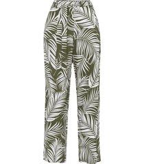 pantaloni a palazzo in viscosa sostenibile (verde) - bodyflirt