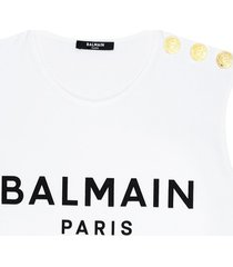 top with logo