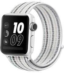 pulsera apple watch nylon blanco todobags
