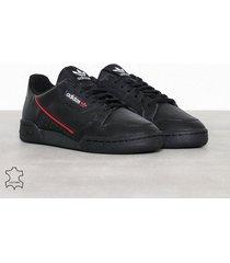 adidas originals continental sneakers svart