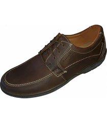 zapato marrón zurich clásico