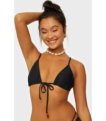 nly beach triangle drama bikini top top