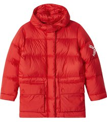 down jacket 'little x' red