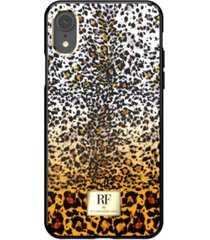 richmond & finch fierce leopard case for iphone xr