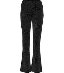 marisa mw trousers wijde broek zwart second female