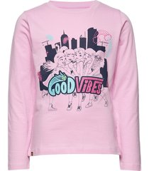 cm-51102 - t-shirt l/s t-shirts long-sleeved t-shirts rosa lego wear