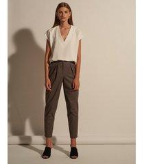spodnie eva tweed