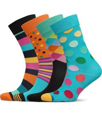 classics gift box underwear socks regular socks blå happy socks