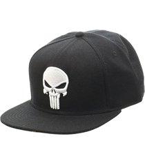 gorra bioworld punisher logo marvel snap back hat original