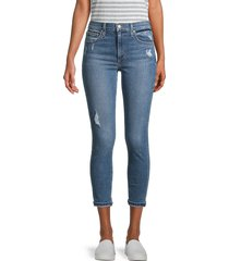 joe's jeans women's high-rise cropped skinny jeans - brentwood - size 24 (0)