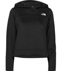 w at spacer po hoodie trui zwart the north face