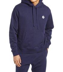 men's malbon golf men's buckets hoodie, size x-large - blue