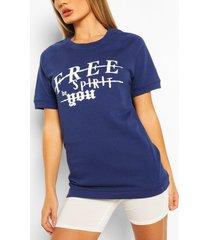 free spirit oversized sweat top, navy