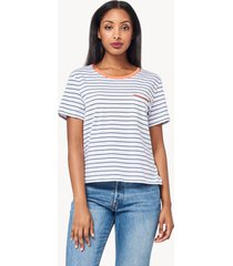 lilla p short sleeve easy pocket tee