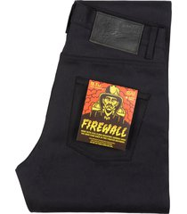 naked and famous denimweird guy firewall selvedge denim jeans | indigo | 101116403-ind