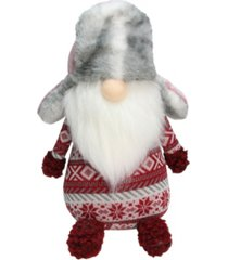 northlight nordic gnome faux fur trapper hat christmas decoration
