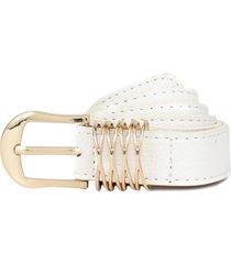 cinturon gema blanco carven