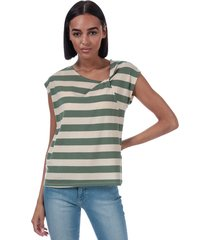 womens ashlee striped jersey t-shirt