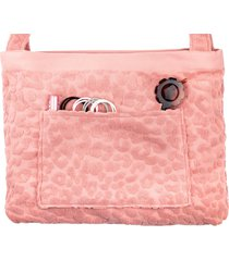sunnylife call of the wild beach towel tote, size one size - pink