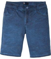 bermuda effetto lavato regular fit (blu) - bpc bonprix collection