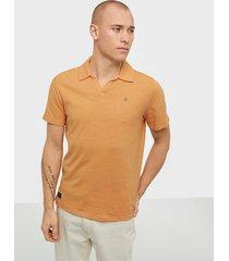 morris delon ss jersey shirt t-shirts & linnen orange